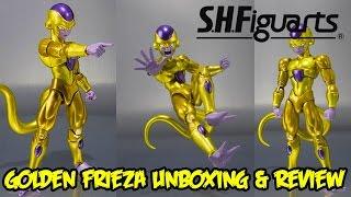 getlinkyoutube.com-Bandai Tamashii Nations SH Figuarts Golden Frieza Unboxing & Review