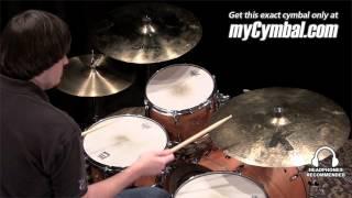 "Used Zildjian 22"" Rarities K Dark Thin Ride Cymbal (UK0874-1112712V)"