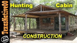"getlinkyoutube.com-Hunting Cabin Construction ""Tour"" (Part 1)"