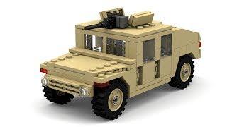 getlinkyoutube.com-Lego Modern Warfare Humvee Instructions
