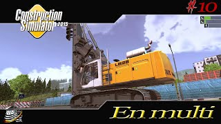 getlinkyoutube.com-CONSTRUCTION SIMULATOR 2015 / Présentation de la Foreuse Liebherr LB28