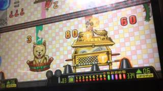 getlinkyoutube.com-【メダルゲーム機】連射でアタック!パーティー!わいわいやろう!