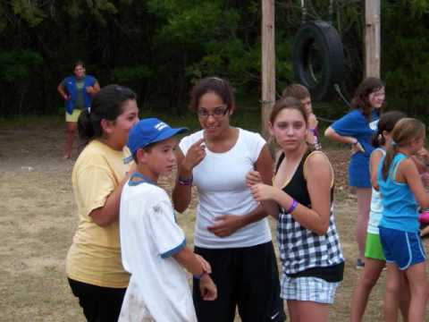 Youtube Preteen camp slide show 2009