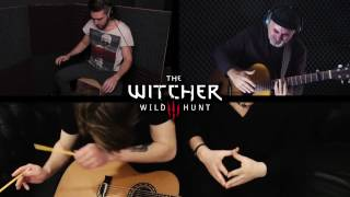 getlinkyoutube.com-The Witcher 3 OST | Hunt Or Be Hunted | Presnyakov/pARTyzant on guitars, pencils & cajon