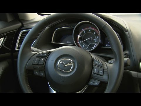 NEW 2014 Mazda3 Sedan - INTERIOR