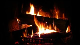 getlinkyoutube.com-Beautiful Fireplace with Crackling Fire Sounds 🎧 TV RELAX AMBIENCE