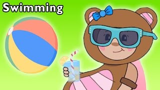 getlinkyoutube.com-Fun Pool Time | Swimming and More | Baby Songs from Mother Goose Club!