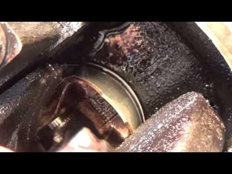 Как вариант промывки маслосъемных колец