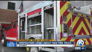 getlinkyoutube.com-Firefighters upset about new fire truck