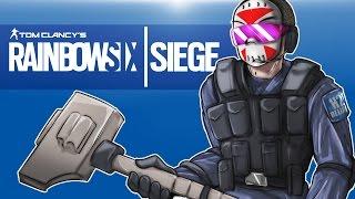 getlinkyoutube.com-Rainbow Six: Siege - Seriouslirious mode! (Full Match) Sledge dem!