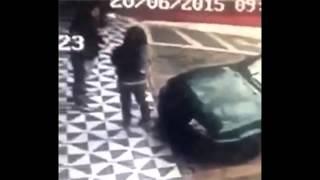 whatsapp funny videos 2016 2015 | girl tries to sit on car but fail 2015 | whatsapp funny