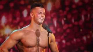 getlinkyoutube.com-Belgium's got Talent - Bodybuilding act - Erko Jun