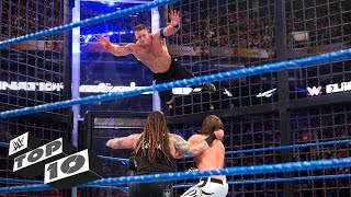 Craziest Elimination Chamber leaps: WWE Top 10, Feb. 17, 2018