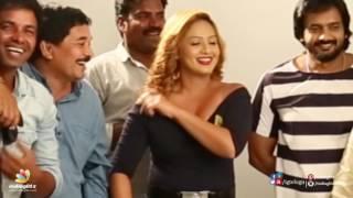 getlinkyoutube.com-Nikesha Patel hot skin show at Araku Roadlo sets ll Behind the scenes