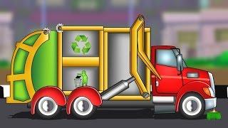 getlinkyoutube.com-Garbage Truck   Formation And Uses   Kids Educational Video