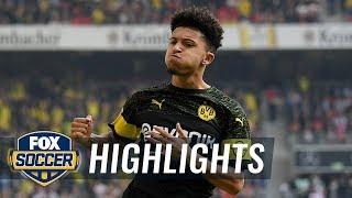 VfB Stuttgart vs. Borussia Dortmund | 2018-19 Bundesliga Highlights width=