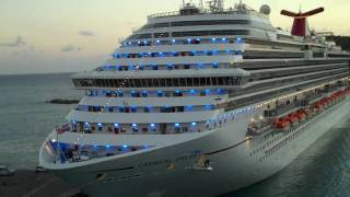 Horn Wars between Carnival Freedom and Dream