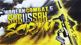 getlinkyoutube.com-Modern Combat 5: Blackout - Squad Battle - SxC vs Srk (Scrim)