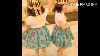 getlinkyoutube.com-رقص لجين وجوري  احلى رقص