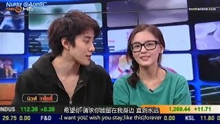 getlinkyoutube.com-【ENG&CHN SUB】Aom Mike - Full House Thai @News Variety 9Jan14