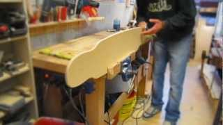 getlinkyoutube.com-Xtensionboards. How we build a bamboo dancer.