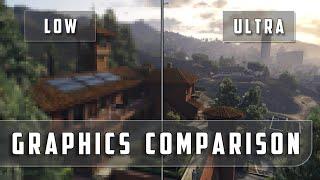 getlinkyoutube.com-Grand Theft Auto 5 – Low vs. Ultra Graphics Comparison [FullHD][60fps]