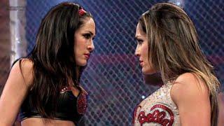 getlinkyoutube.com-Divas Hell in a Cell - Total Divas Championship - Brie Bella Handicap - Bayley vs Charlotte