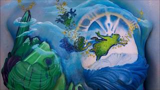 getlinkyoutube.com-Drinkabelle - timelapse bodypaint of our twisted version of Tinkerbell