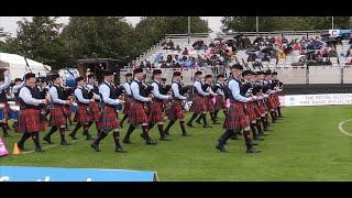 getlinkyoutube.com-Field Marshal Montgomery Pipe Band - 2014 World Champions
