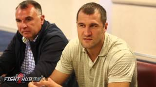 "getlinkyoutube.com-Sergey Kovalev ""I understand why Canelo doesn't want to fight Golovkin..who is not stupid!"""
