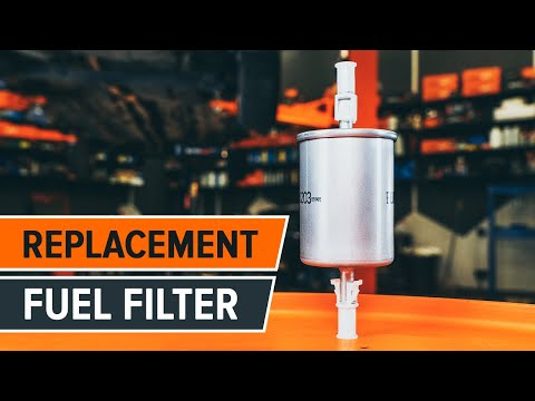 How to replace fuel filter on VW/SKODA/AUDI TUTORIAL | AUTODOC
