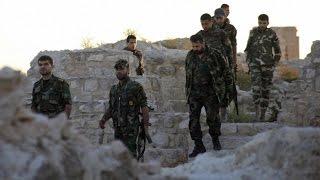 getlinkyoutube.com-بعد خطاب النمر الحماسي ، شاهد الهروب الجماعي لأفواج الشبيحة من الجبهات !  - هنا سوريا