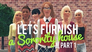 getlinkyoutube.com-The Sims 3 Lets Furnish a Sorority House—Part 1