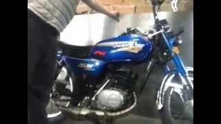 getlinkyoutube.com-Ax con cilindro de dt 125 y escape en acero