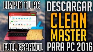 getlinkyoutube.com-Descargar Clean Master para PC Totalmente Full | El Mejor Programa para Limpiar tu PC 2016