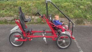 getlinkyoutube.com-4 wheel bicycle