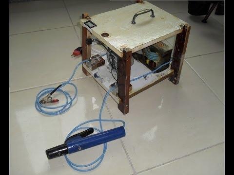 Máquina de solda com transformador de microondas 2/2
