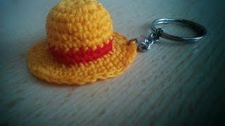 getlinkyoutube.com-Cappello di paglia all'uncinetto. Crochet straw hat.