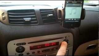 getlinkyoutube.com-Alfa Romeo 147 156 159 GT Brera Loudlink Bluetooth HandsFree AUX Mp3 Iphone Android USB Car Kit