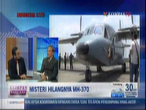 Capt Shadrach Nababan di KOMPAS TV (Misteri MH370)
