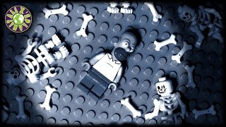 getlinkyoutube.com-Lego Halloween Zombies, Ghosts and Ned Flanders in Homer Simpson Nightmare