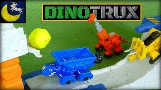 Dinotrux Rock & Load Skate Park Playset with Diecast Dinotrux Toys! Ton Ton, Garby, Ty & MORE!