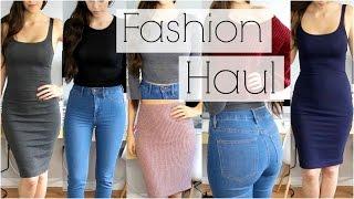 getlinkyoutube.com-Fashion Try On Haul 2015 - Forever 21, H&M, Zara, Charlotte Russe & Lookbook Store