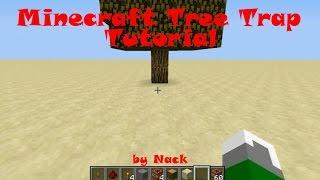 getlinkyoutube.com-Minecraft:กับดักต้นไม้ระเบิด (Tutorial)