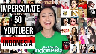 IMPERSONATE 50 YOUTUBER INDONESIA
