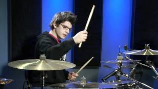 getlinkyoutube.com-The Double Stroke Sweep - Drum Lesson (DRUMEO)
