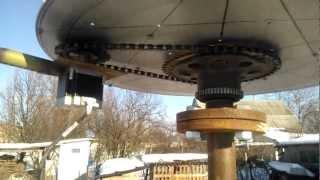"getlinkyoutube.com-вертикальний вітрогенератор з ""шаговым двигателем"""