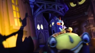 getlinkyoutube.com-Roger Rabbit's Car Toon Spin Ride 2015, Disneyland Park, Disneyland Resort