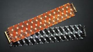 getlinkyoutube.com-BRACCIALE AFRICA - Tecnica del peyote pari - Tutorial Perlinebijoux.com