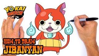 getlinkyoutube.com-How to Draw Jibanyan (Yo-Kai Watch)- Kids Art Lesson